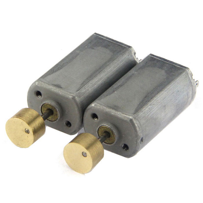 12*15*28mm 12V 18000RPM 0.02A Motors - Gray (2 PCS)Motors<br>Form  ColorGreyModelN/AQuantity2 DX.PCM.Model.AttributeModel.UnitMaterialAluminum alloyRate Voltage12VPower Range12VInput Voltage12 DX.PCM.Model.AttributeModel.UnitRevolutions Per Minute (RPM)18000RPMWorking Current0.02 DX.PCM.Model.AttributeModel.UnitEnglish Manual / SpecNoDownload Link   N/AOther FeaturesEccentric wheel: 8 x 5mmPacking List2 x Motors<br>