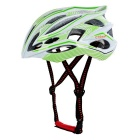 CTSmart X9 24-Hole Breathable PC + EPS Bike Safety Helmet for Cycling - White + Green