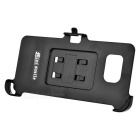 Mini Car Air Vent Mount Bracket + Phone Holder Clip Set for Samsung Galaxy S6 Edge Plus - Black