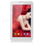"Quad-Core Android 4.4 WCDMA 3G Tablet PC w/ Dual-SIM, 7"" IPS, 8GB ROM, GPS, FM, BT - White + Blue"