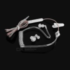 Cwxuan 3.5mm In-Ear Mega Bass Air Duct Earphone w/ Mic, Remote