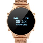 Sport Smart Bluetooth V4.0 Watch w/ Hands-free Conversation, Remote Photo, Alarm Clock - Rosy Gold