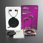 3.5mm In-Ear Wired Earphones w/ Mic. for IPHONE / Samsung - Coffee