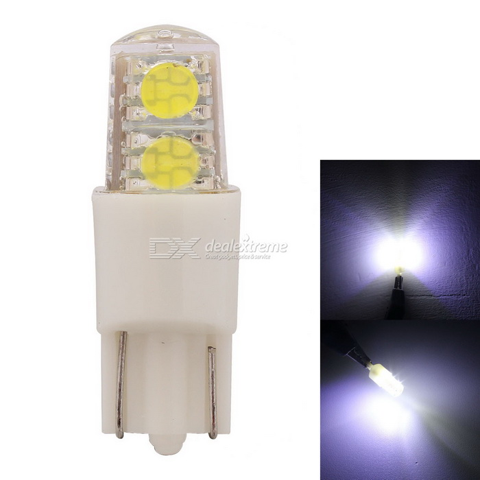 MZ T10 W5W 192 168 194 2W Car LED Clearance / Marker Light White 4-SMD