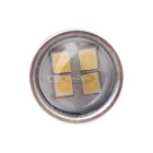 MZ Universal T20 7440 100W White LED Car Rear Fog / Turn Signal Light