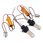 MZ 1156 10W Orange + Pink LED Car DRL / Reverse / Tail Brake Light