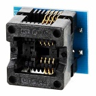 -Gold plating SOP8 om DIP8 narrow-body adapter mount SOIC 8 150mil bounce brandende testen mount