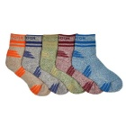 Men's Sports Mid-Calf Length Socks - Multicolor (5 Pairs)