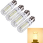 YouOKLight E27 18W LED Corn Bulbs Lamps Warm White 3000K 1780lm 69-SMD 5730 (AC 220~240V / 4 PCS)