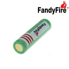 FandyFire US Single Charger + 3000mAh 18650 Rechargeable Battery