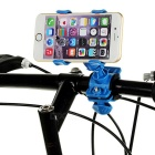 Universal Motorcycle Phone Holder for IPHONE / PDA + More - Blue