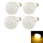 YouOKLight E27 7W LED Light Lamps Warm White 3000K 450lm 16-SMD 5730 - White (AC 220V / 4 PCS)