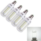 Bulbos do milho do youoklight E14 18W LED luz branca fresca 69-SMD (4PCS)