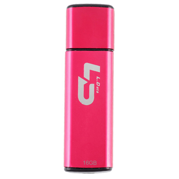 L.Data LD USB 2.0 Flash Drive - Deep Pink (16GB)