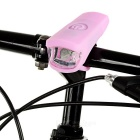 leadbike A50 2-LED 100LM 2-Mode Белый свет велосипед лампа - розовый