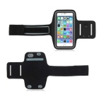 Brazalete deportivo doble hebilla para IPHONE 6 plus - negro