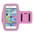 Double Buckle Sports Armband for IPHONE 6 Plus - Pink