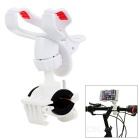 Universal Motorcycle Phone Holder for IPHONE / PDA + More - White