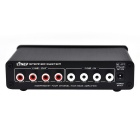 A927 4-In 4-Out Sound Independent Controller Power Amplifier - Black
