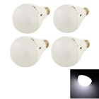 YouOKLight YK0040 E27 7W LED Lamp Cold White Light - White (4PCS)
