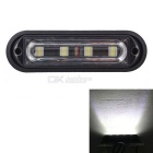 MZ 12W Water Resistant 18 Flash Patterns 6500K 720lm White Car Truck Strobe Emergency Warning Light
