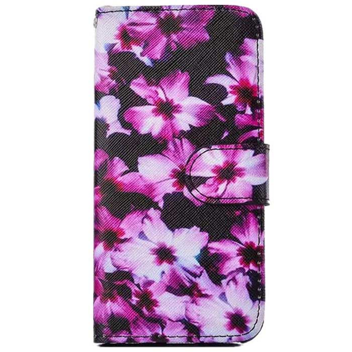 Painting TPU Case w/ Stand / Card Slot for IPHONE 6 PLUS - Multicolor