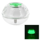 Fashion Mini USB LED Night Lamp Nightlight Mist Maker Air Humidifier - White + Green