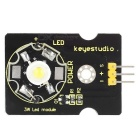 Keyestudio 3W LED Module for Arduino - Black