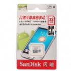 SanDisk Ultra PLUS 32GB Micro SD HC / Micro SD XC Micro SD UHS-I Card