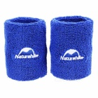 NatureHike Sport Sweat Absorbent Wristguard - Blue