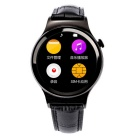 "T3 1.22"" GSM Smart Watch w/ UV Detection, Pedometer, Sleep Tracker + More for Android Phones - Black"