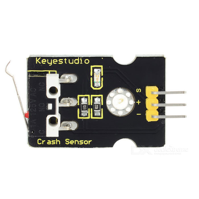 Keyestudio Collision Crash Sensor for Arduino - Black