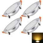 YouOkLight 7W Ceiling Light Lamp White Light 600lm w/ Driver(4PCS)