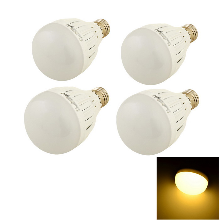 YouOKLight E27 5W LED Bulb Warm White 450lm 10-SMD - White (4PCS)
