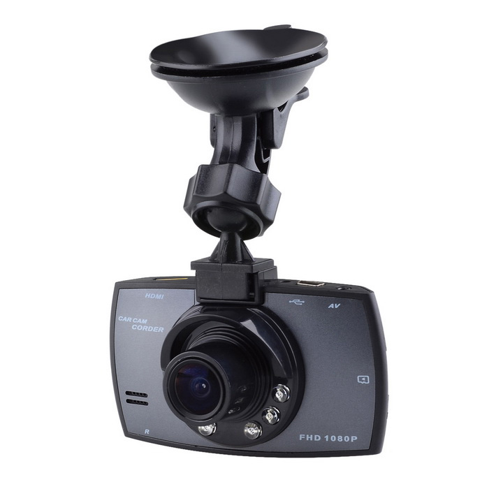 "H300 Full HD 2.4"" TFT 3MP auto camcorder w / 6-LED night vision - zwart"