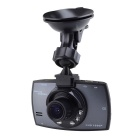 "H300 Full HD 2.4"" TFT 3.0MP Car Camcorder w/ 6-LED Night Vision - Black"