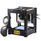 NEJE DK-8 pro-5 Speed Laser Box / Laser Engraving Machine / Laser Printer - Black + Yellow