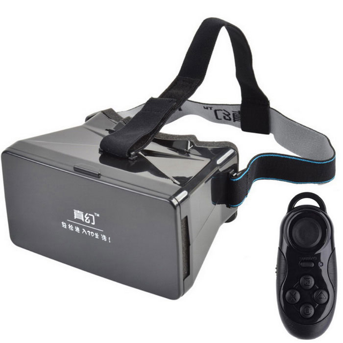 "RITech 1 virtual reality Film / Game 3D magic box voor 3.5""~ 5.6"" telefoon"