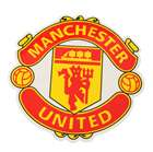Football / Soccer Club Aufkleber - Manchester United (11,5 * 11,5 cm)