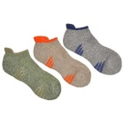 Comfortable Sports Socks - Multicolor (EUR 40~44 / 3 Pairs)