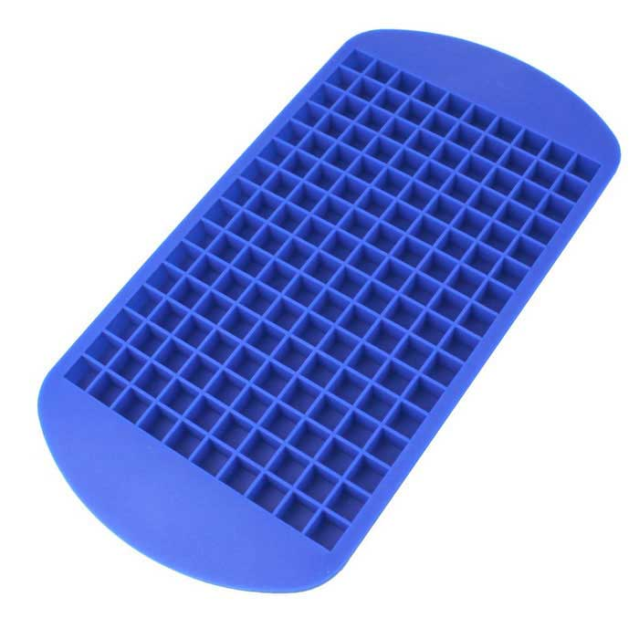 160 Small Silicone Ice Lattice Ice Tray - BlueFood Molds<br>Form ColorBlueMaterialSiliconeQuantity1 DX.PCM.Model.AttributeModel.UnitPacking List1 x Ice tray<br>