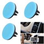 RUITAI 360 Degrees Rotation Universal Magnetic Car Mount Holder for IPHONE 6 / 6 PLUS - Blue (3 PCS)