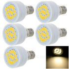 E14 3W LED Spotlight Bulb Lamp Warm White Light 3200K 230lm 15-SMD 5730 (AC 220~240V / 5PCS)