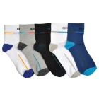 Men's Sports Cotton Socks (5 Pairs)