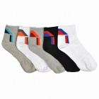 Men's Professional Mountaineering Sports Ankle Socks (5 Pairs)