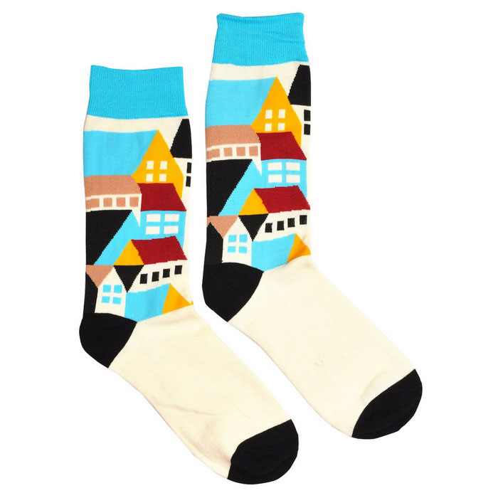 Mannen Creative Fashionable Socks-Multicolored (40-44 / 1 Pair)