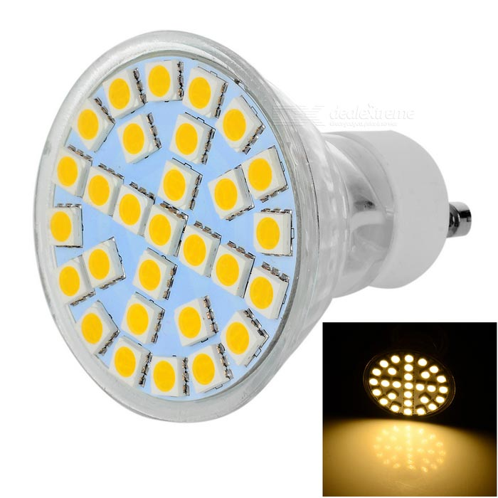 GU10 5W LED Bulb Lamp Warm White Light 3500K 200lm 29-SMD 5050