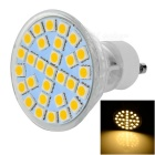 GU10 5W LED Bulb Lamp Warm White Light 3500K 200lm 29-SMD 5050 (AC 220~240V)