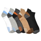 Men's Sports Ankle Socks (5 Pairs)