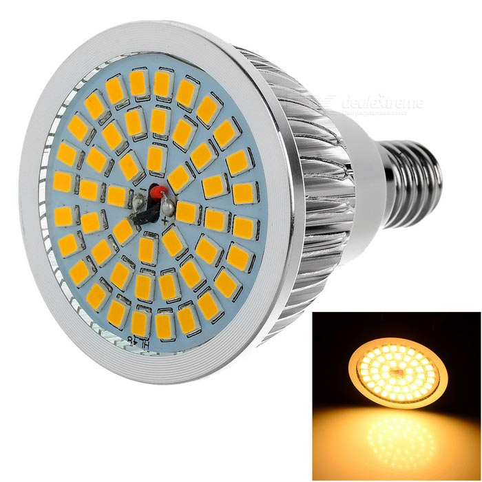 Lexing iluminación dimmable E14 7W proyector LED blanco cálido 600lm 8-SMD